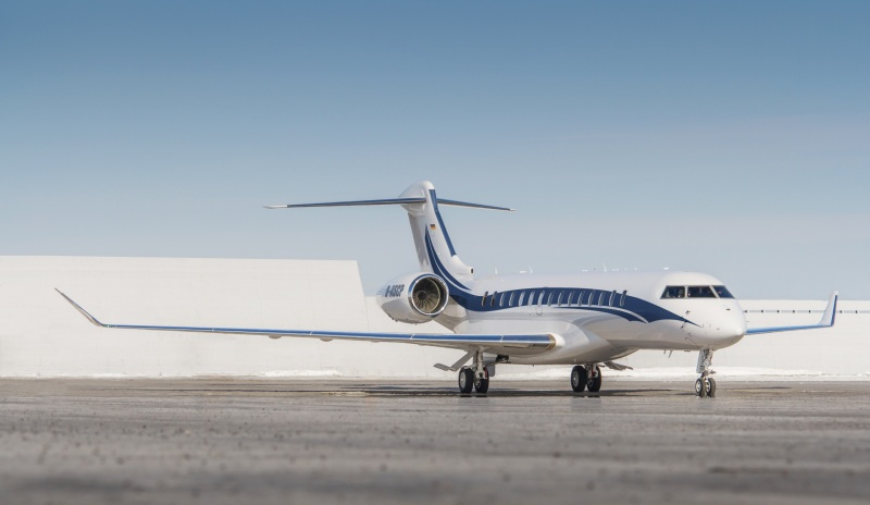 Global 7500 of K5-Aviation