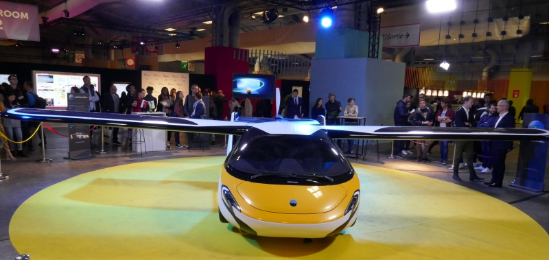 Aeromobil flying car at VIVATECH