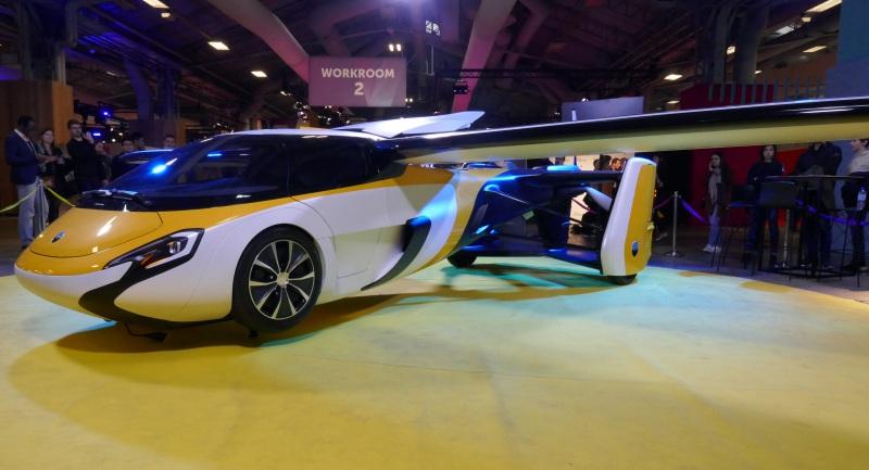 Aeromobil flying car at VIVATECH