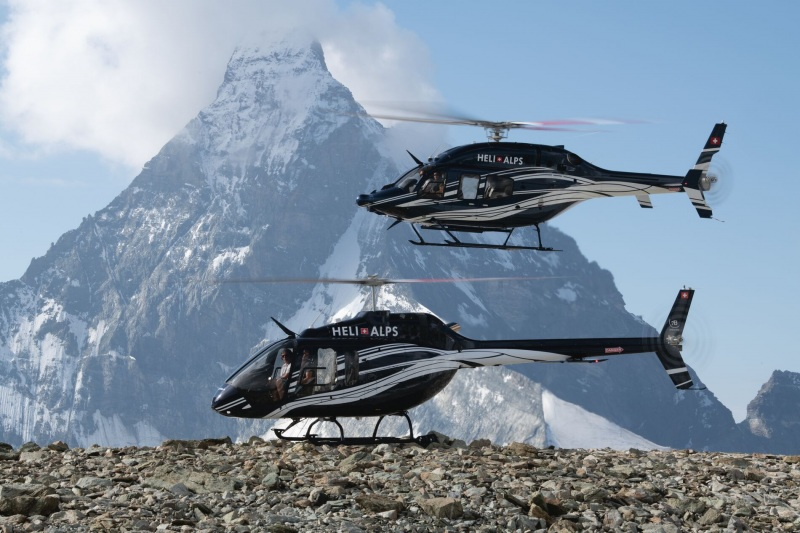 Bell 429 and Bell 505