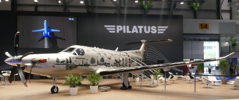 Pilatus 12 NG at EBACE 2019