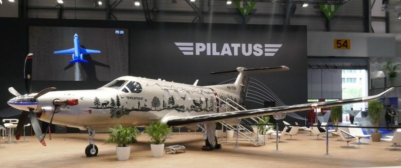 Pilatus 12 NG at EBACE 2019