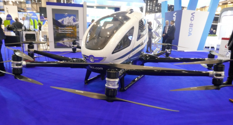 EHang autonomous air vehicle