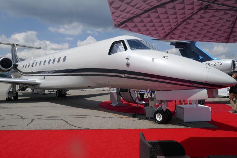 Embraer Praetor 500 at EBACE