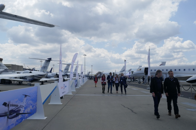 EBACE 2019 Static display