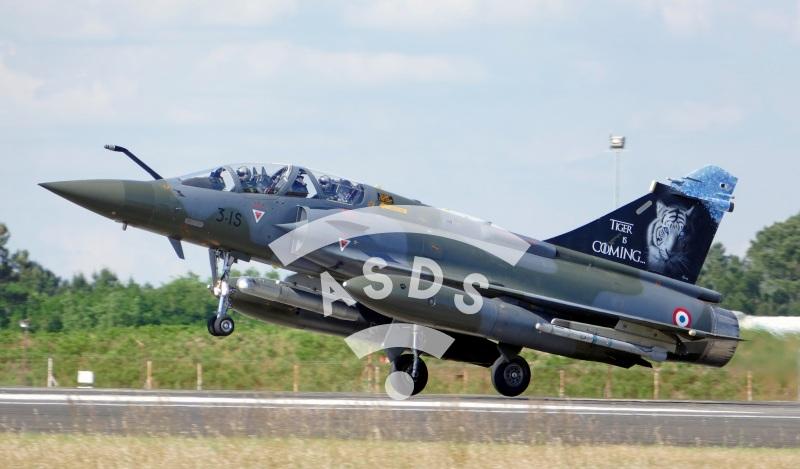 Mirage 2000 D at Tiger Meet 2019
