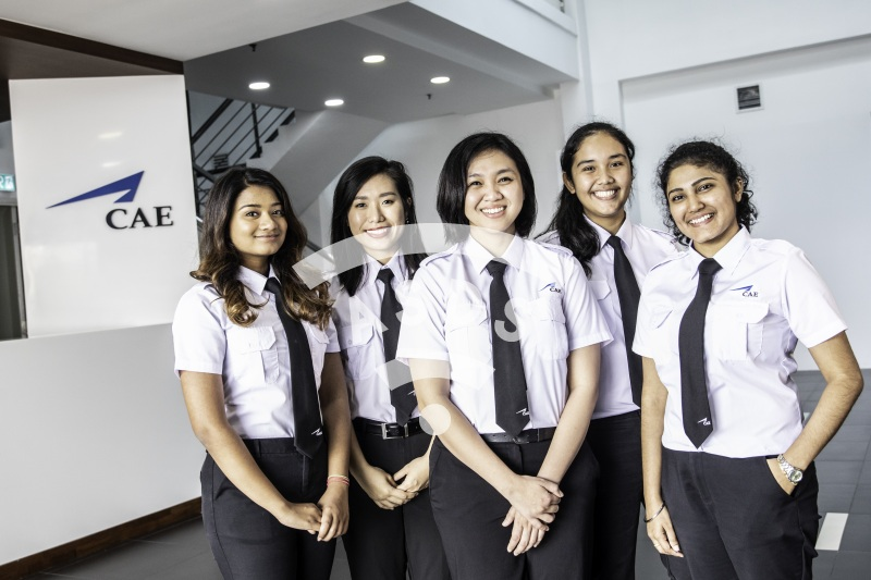 CAE Kuala Lumpur - Cadets in training