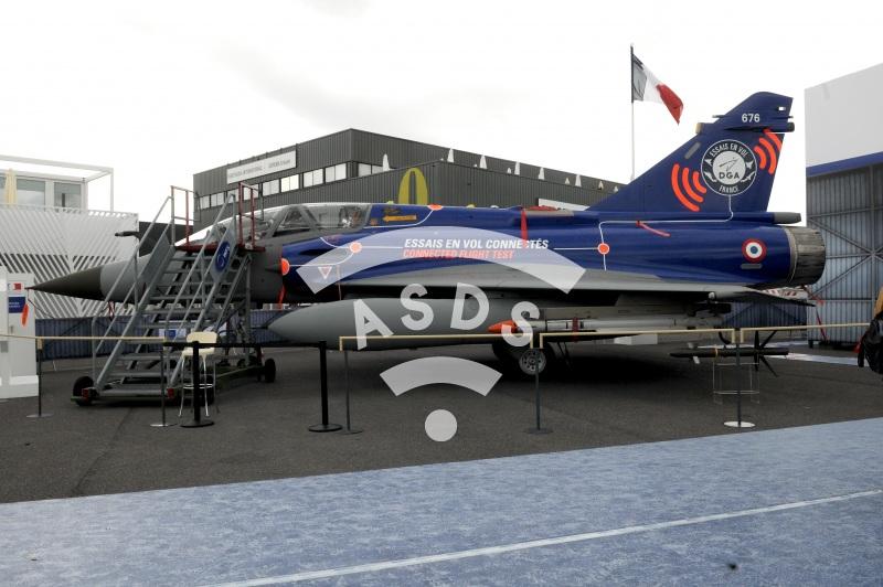 Mirage 2000D at PAS 2019