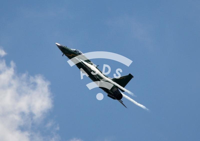 Pakistani JF-17 at PAS 2019