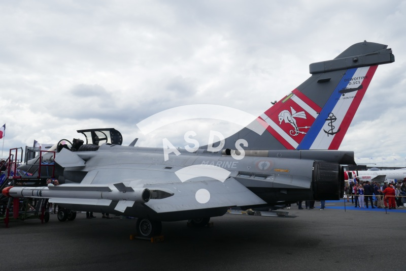 French Navy Rafale at PAS 2019