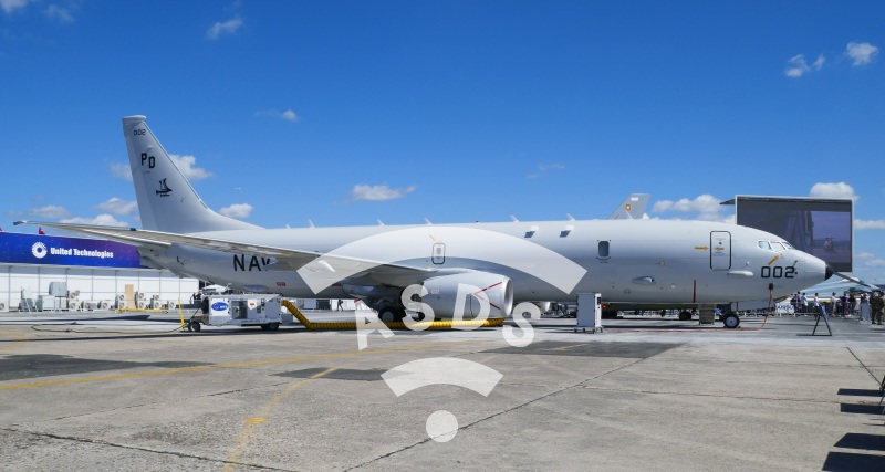 P-8 Poseidon at PAS 2019