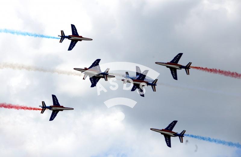 Patrouille de France at PAS 2019