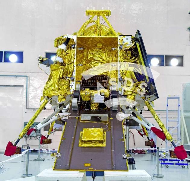 Chandrayaan-2 Indian Moon lander