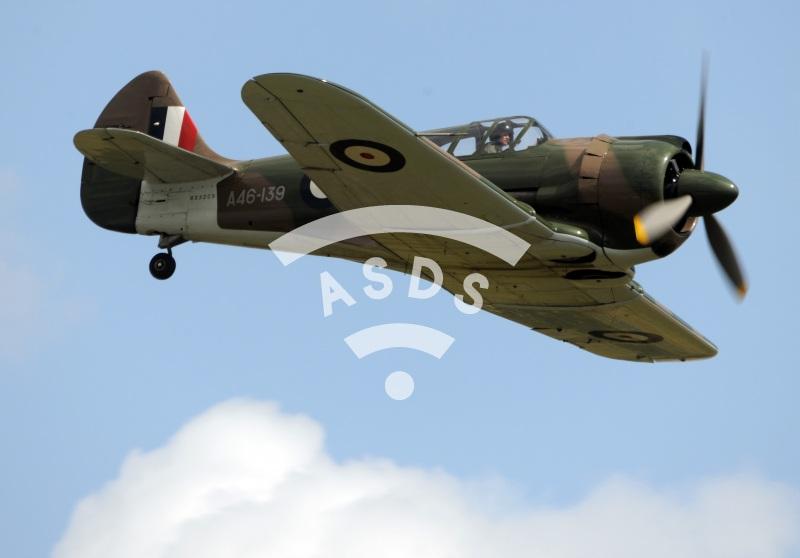 Boomerang fighter at Air Legend 2019