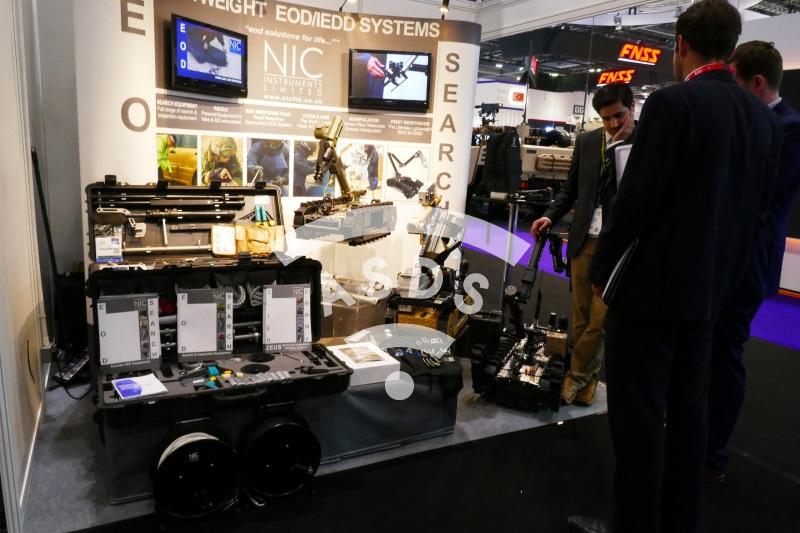 NIC Instruments booth at DSEI 2019