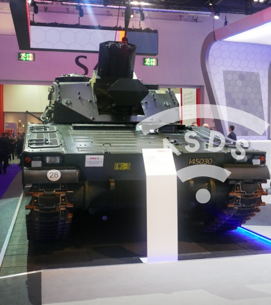 BAE Systems CV90 at DSEI 2019