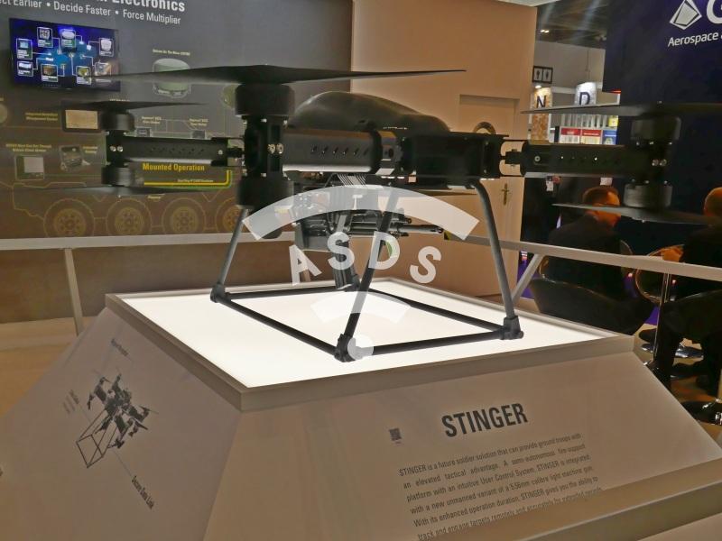 ST Engineering Stinger at DSEI 2019