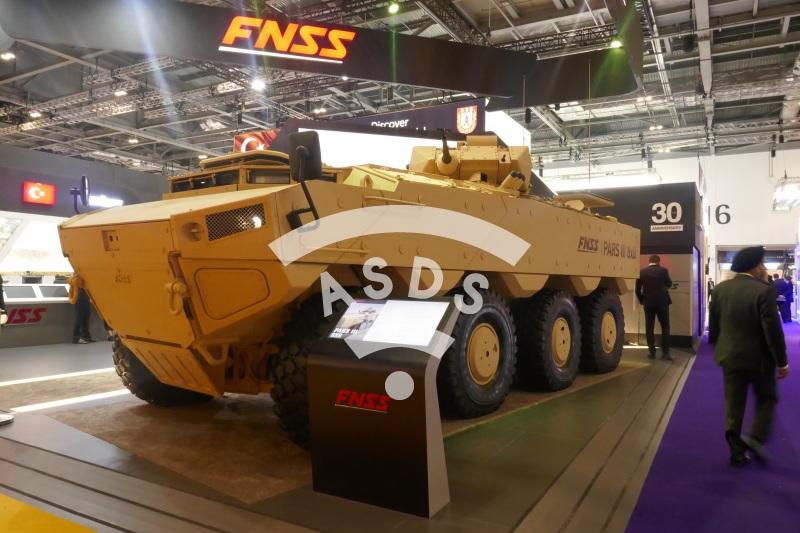 FNSS PARS III 8x8 at DSEI 2019