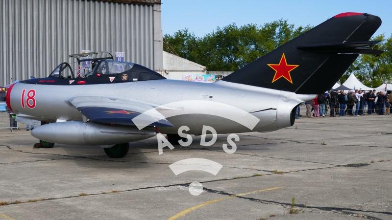 MiG-15 at Air Legend 2019
