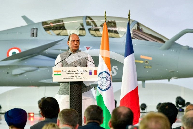 First Indian Air Force Rafale Handover to the Government of India