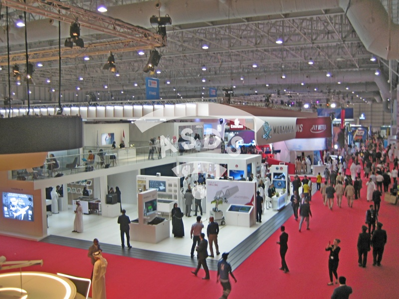 Mubadala booth at Dubai Airshow 2019