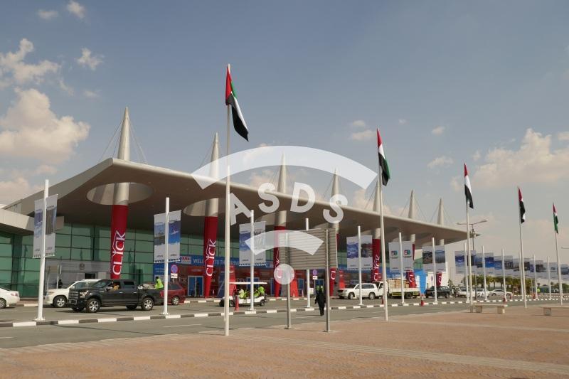 Dubai Airshow 2019 entrance