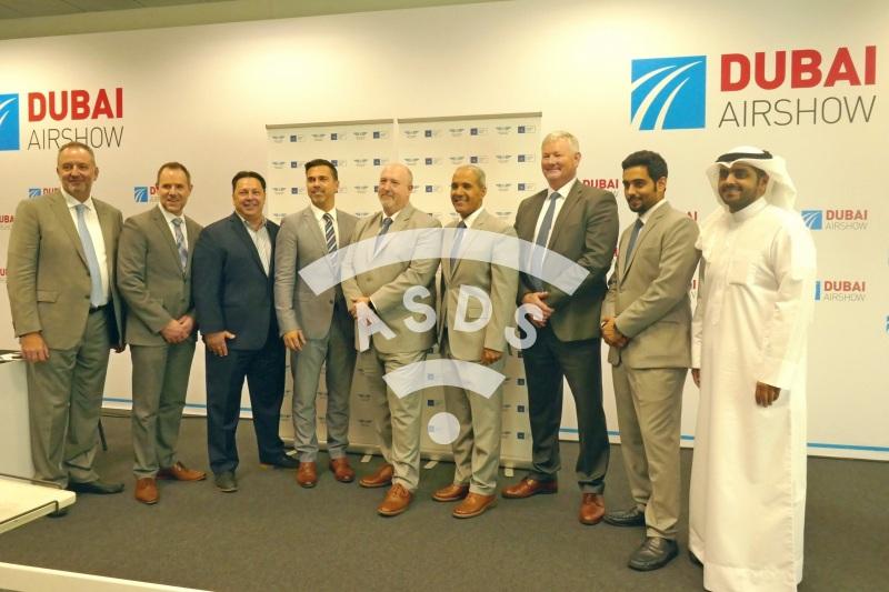 CAE and SNCA announcement at Dubai Airshow 2019