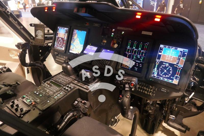 Sikorsky S-76D cockpit
