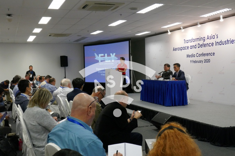 Singapore Airshow  Media conference