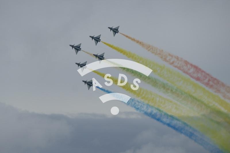 Aerobatics team Ba Yi at Singapore Airshow 2020