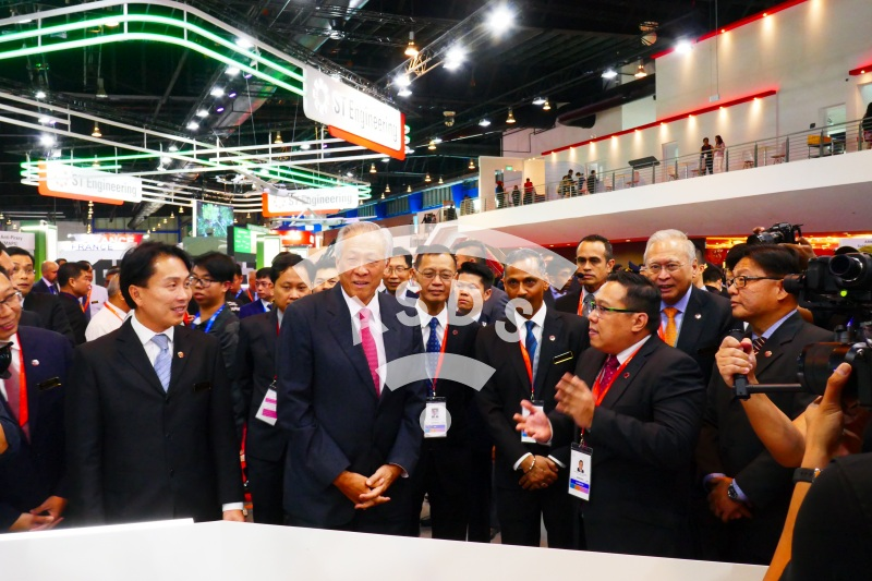 Minister of Defence at Singapore Airshow 2020