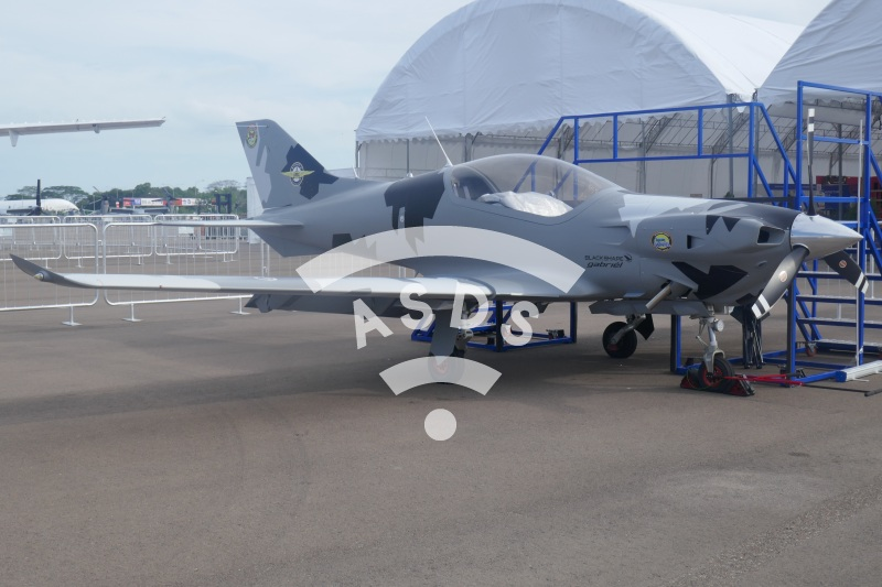 Blackshape Gabriel at Singapore Airshow 2020