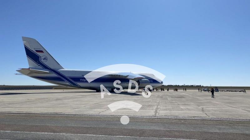 Antonov-124  against Covid-19