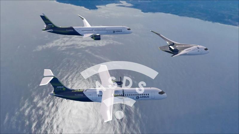 AirbusZEROe hydrogen concept