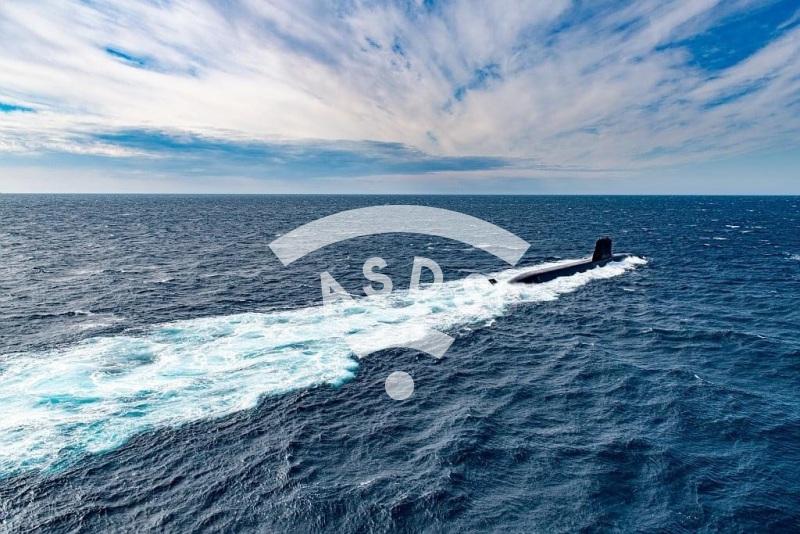 French Navy Suffren submarine