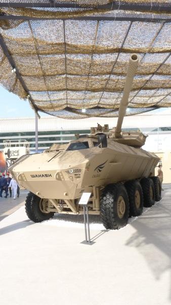 WAHASH 8x8 105 mm
