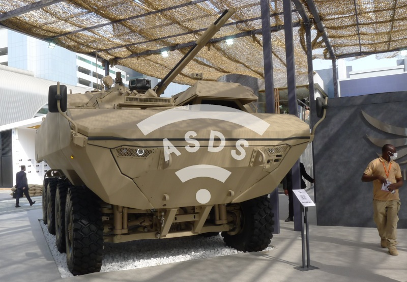 WAHASH IFV with BMP-3 turret
