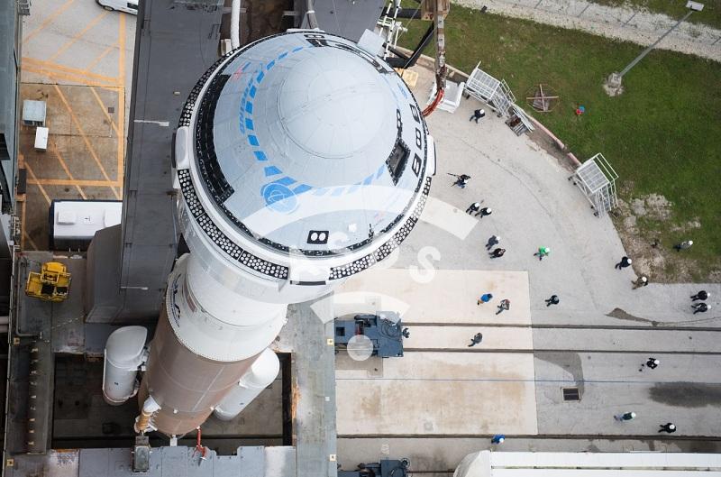 Starliner on top of Atlas V