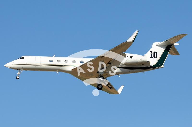Lionel Messi G-V private jet