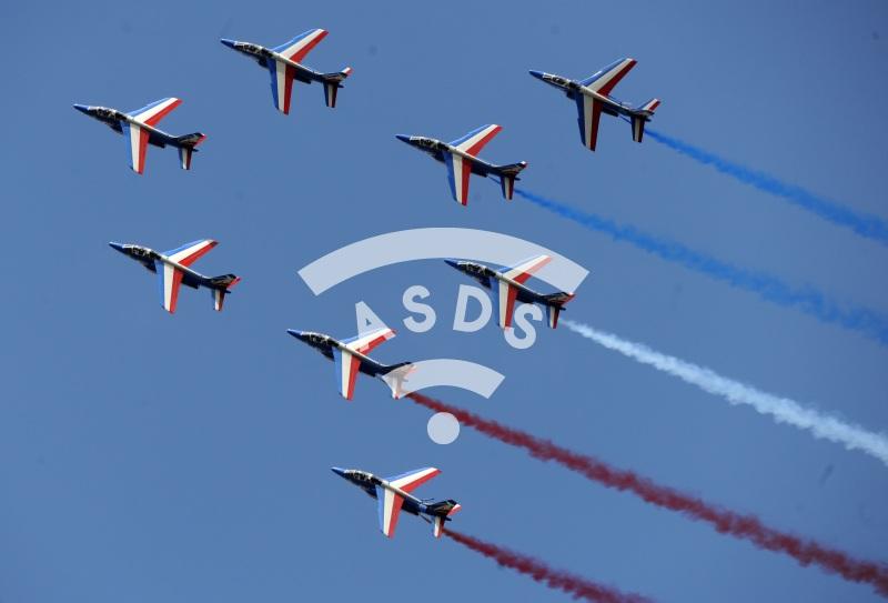 Patrouille de France at La Ferté Alais 2021