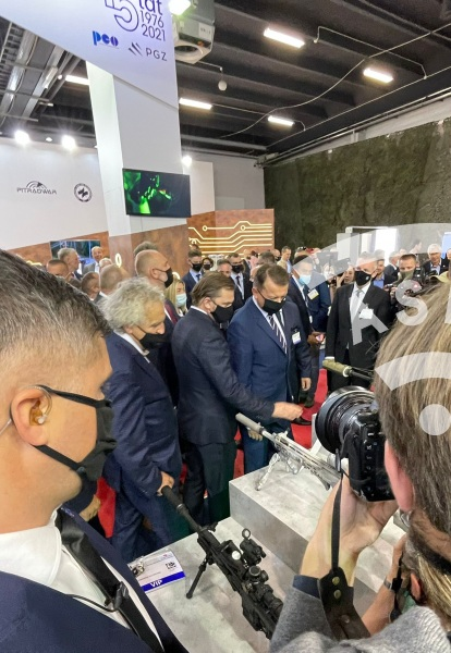 Opening day at MSPO 2021