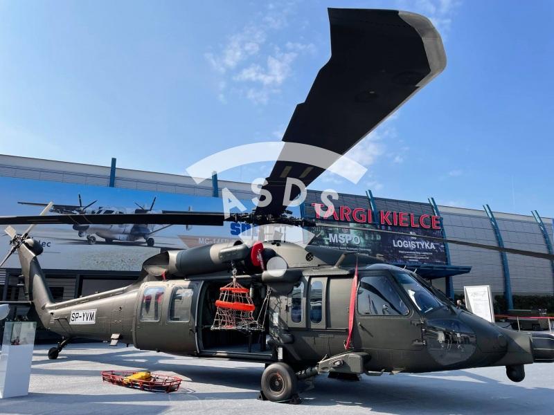 UH-60 Black Hawk at MSPO 2021