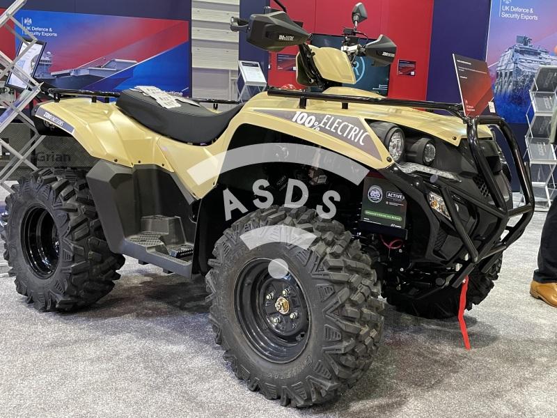 E-ATV VIZSLA at DSEI 2021