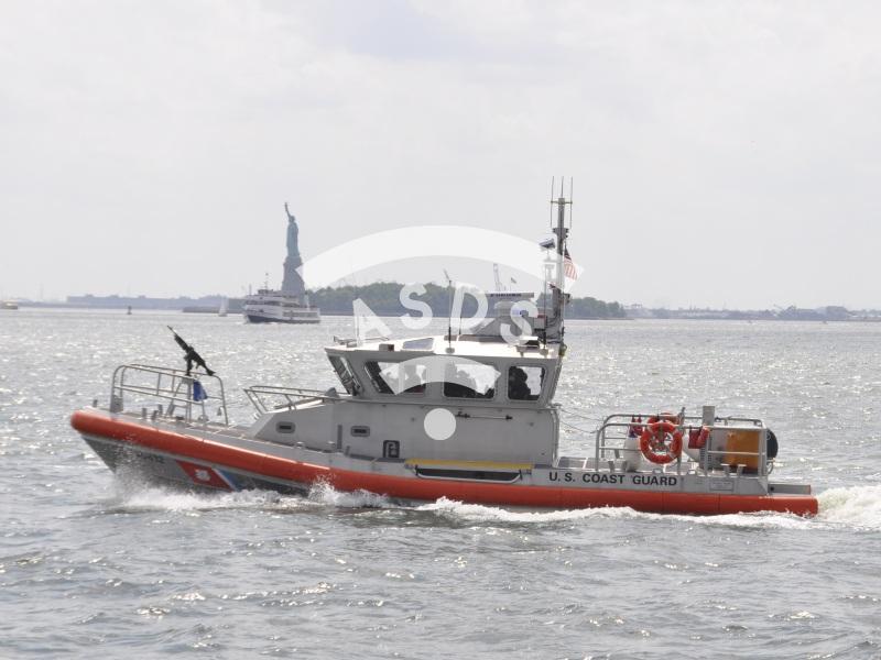 Statue of Liberty anti-terrorist protection U.S. Coast Guard
