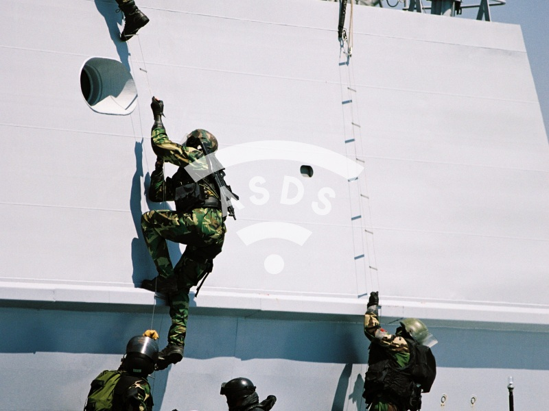 Chilean Special Forces training