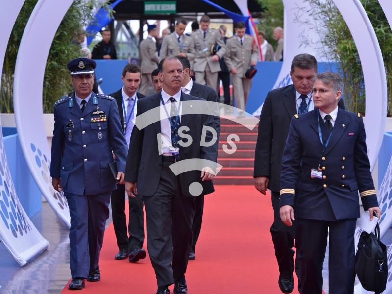 HRH Prince Faisal bin Al Hussein of Jordan at Eurosatory 2014