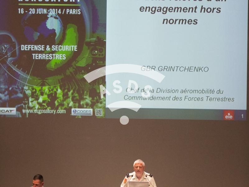 Eurosatory 2014 conference