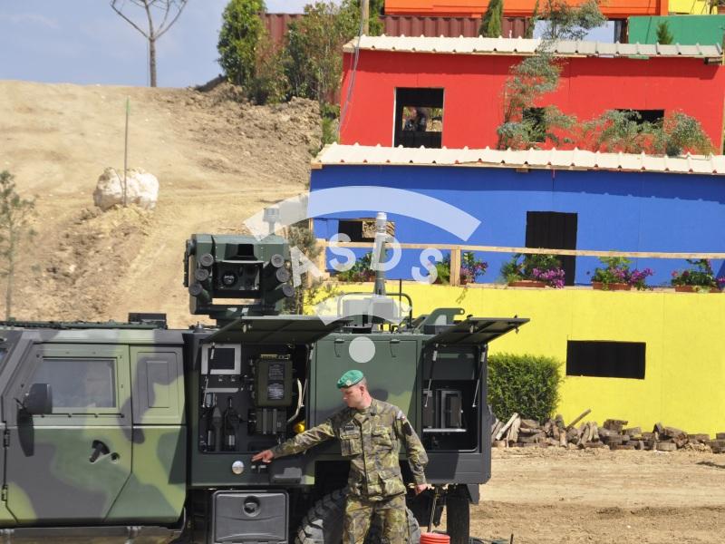 Iveco LMV Military 4x4 at Eurosatory 2014
