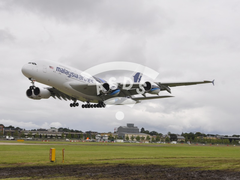 Farnborough preview, A380 landing